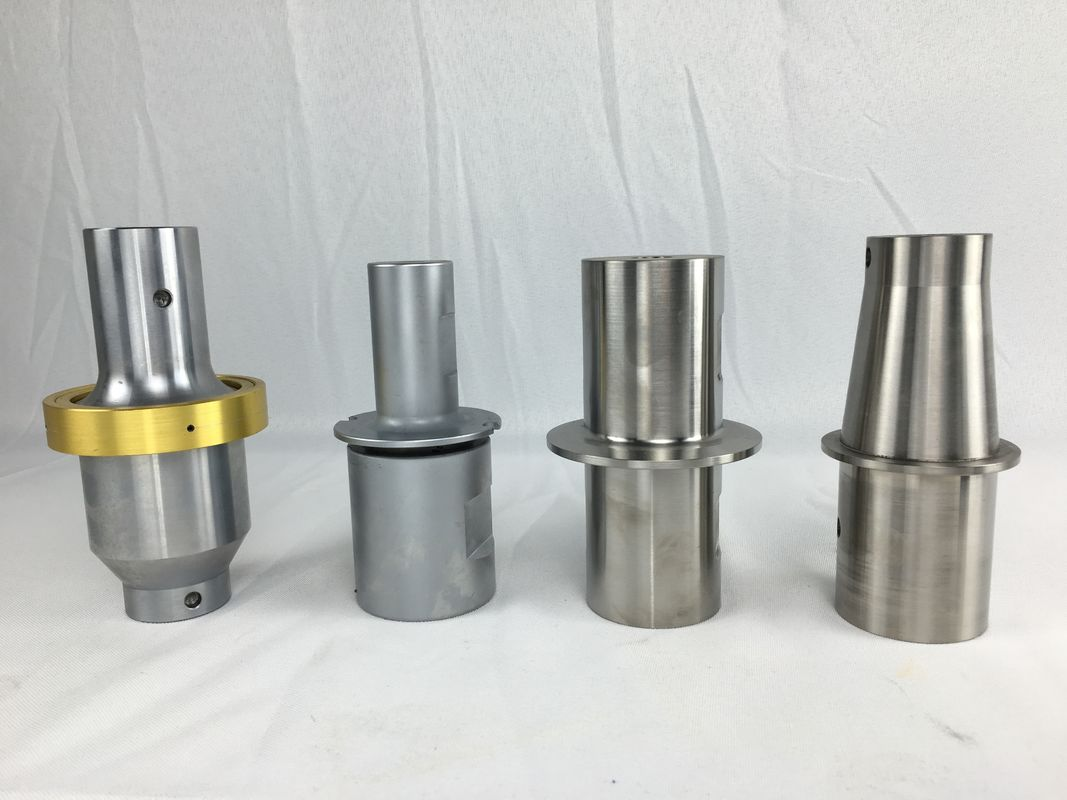 Customized Ultrasonic Welding Horn Titanium / Aluminium Steel Amplitude Boosters