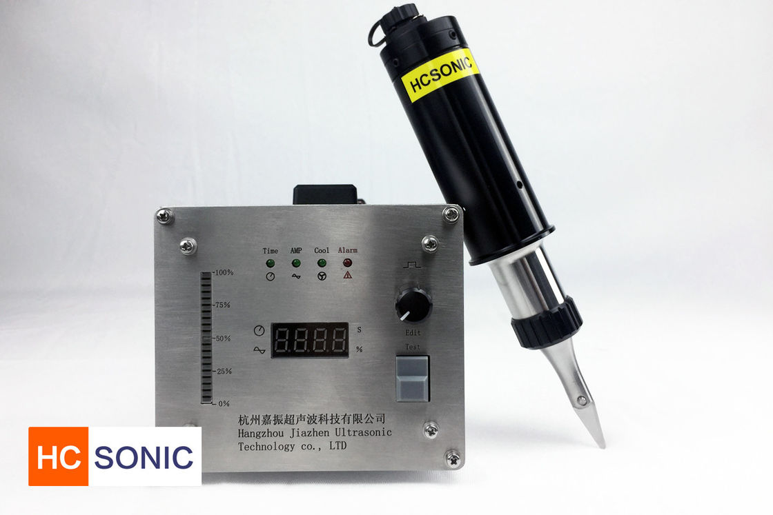 300w Ultrasonic Hand Cutter , 40 Khz Portable Ultrasonic Cutter For Plastics
